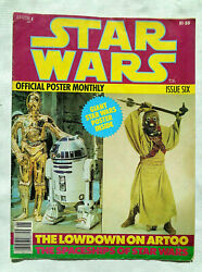 1977 Star Wars Official Poster Monthly Issue Six C3po
