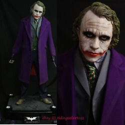 Batman The Joker 1/2 Life Size Resin Recast Statue Painted Collectible In Stock