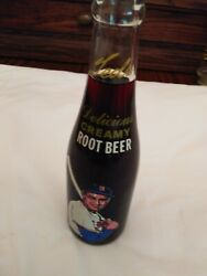 Ted Williams Root Beer Bottle Unopened Moxie Boston Red Sox