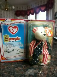 1999 Spangle The Bear Ty Beanie Baby New In Box