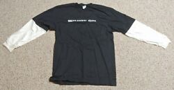 Vintage Mountain Dew Game On Black And White Long Sleeve Promo T-shirt Size Xl