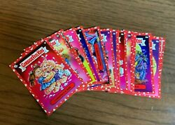 Garbage Pail Kids - Mr And Mrs Valentines Day Red Parallel Ondemand 20 Card Set