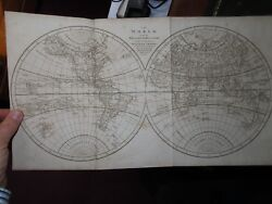 1790 System Of Universal Geography By Cooke - 7 Maps 56 Plts China Captain Cook