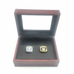 Usa Baltimore Colts Nfl Super Bowl Championship 2 Piece Ring Set And Display Case