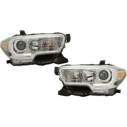 Headlights Lamps Set Of 2 Left-and-right 8111004262, 8115004262 Lh And Rh Pair