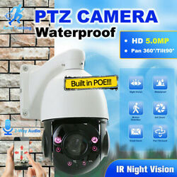 36x Zoom Outdoor Cctv 5mp Auto Tracking Ptz Camera 3d Humanoid Detection H.265