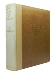 Seven Pillars Of Wisdom T. E. Lawrence 1935 First Limited Trade Edition, No. 556