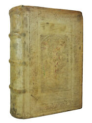 The Comedies Of Aristophanes   1586   Blind Stamped Pigskin Renaissance Binding