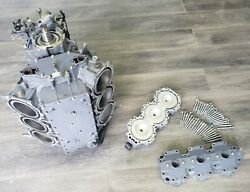 65j-w0090-11-1s Yamaha 2001 Complete Powerhead 225 Hp Only 2-stroke V6 Inspected