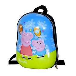 Abs Polycarbonate School Bag Blue And Green