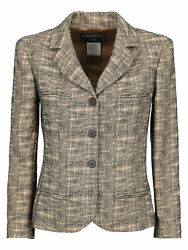 Women Suits And Sets Beige Black Wool It 38