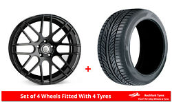 Alloy Wheels And Tyres 18 Cades Artemis For Seat Altea Xl 06-15