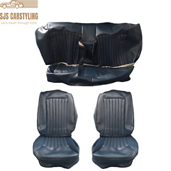 Seat Covers For Mercedes Benz W126 Se Sel 1.serie 1979-1985 Saloon Blue