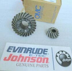 S8- New Evinrude Omc 435934 Forward And Pinion Gear Match Set Counter Oem Parts