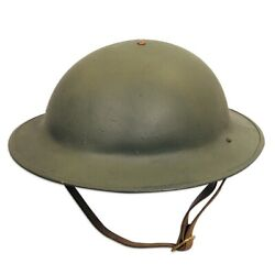 Us M1917 Doughboy Helmet With Liner Wwi Reproduction18 Gauge Steel