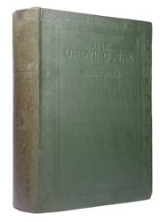 The Undying Fire By H. G. Wells 1919 Signed First Edition Hardback