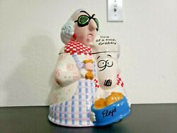 Hallmark Maxine And Floyd Cookie Jar Dated 2003 One At A Time Grabby