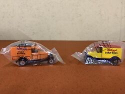 Matchbox Die Cast Toy Antique Trucks Advertising Kelloggs Cereal Lot Of 2