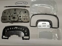 1953 Cadillac Speedometer Gauge Cluster Glass Parts Bezel Odometer Cable Etc.