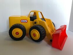 Little Tikes Big Large Yellow Front End Loader Bulldozer Construction Toy