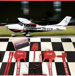Sunshield And Cowl Plugs For Aircraft - Cessna Skylane 182t