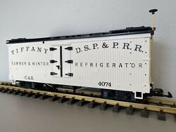 Lgb 4074-b02 D.s.p. And P.r.r Summer And Winter Reefer G Scale