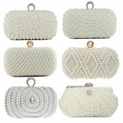 Handbags Evening Bags Clutch Shoulder Chain Purses Beaded Diamond Embroidery New