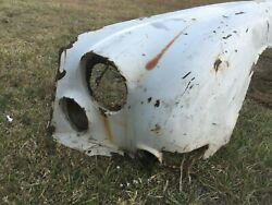 Jaguar 420 Saloon Left Front Fender Or Wing, Rusted Suitable To Repair Another
