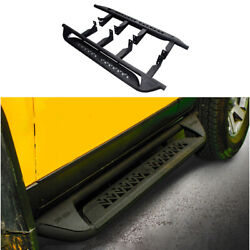 For Toyota Fj Cruiser 2007-2014 Steel Black Running Board Side Pedals Foot Pedal