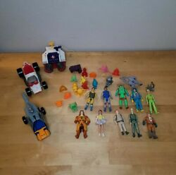 Vintage The Real Ghostbusters Action Figures Toy Monsters Kenner Big Lot 1980s