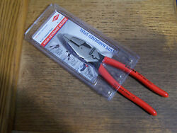 Knipex 0911240sba 9.5-inch Ultra-high Leverage Lineman Pliers With Fish Germany