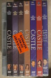 Castle The Complete Eighth And Final Season Dvd 8-disc Set New Unopened