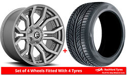 Alloy Wheels And Tyres 20 Fuel Rage D713 For Hummer H3t 09-10