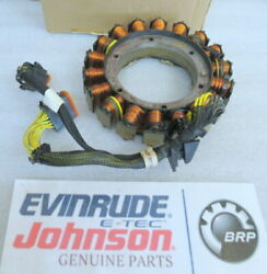 P34 Johnson Evinrude Omc 586514 Stator Assembly Oem New Factory Boat Parts