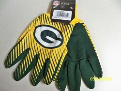 Officially Licensed W/ Seal, Nfl Football Green Bay Packers Sport Utility Gloves