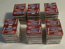 6 Boxes Of 320 Diamond Red Tipped Wooden Matches = 1920 Individual Matches