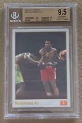 1991 Muhammad Ali Gold All World Boxing Card 69 Bgs 9.5  Two 10's