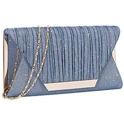 Glitter Clutch Purses For Women Evening Bags And Cluthes Flap Envelope Handbags $40.99