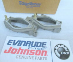 M33 Johnson Evinrude Omc 437338 Intake Manifold Assy Oem New Factory Boat Parts