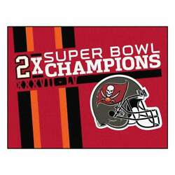 Tampa Bay Buccaneers Super Bowl Lv 55 Champions Dynasty All-star Mat 33.75x42.