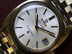 Omega Constellation Chronometer Date Vintage 168.027 Automatic 7183 Case 34mm