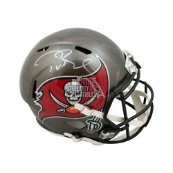 Tom Brady Autograph Buccaneers Speed Replica Full-size Football Helmet Fanatics