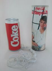 Vintage 1985 Licensed Coca-cola Coke Can Shaped Outpulse 5010 Phone