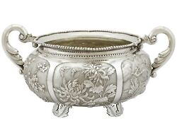 Antique Chinese Export Silver Bowl Circa 1890