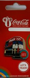 Official Coca Cola London 2012 Olympic Piccadilly Circus Pin Badge Brand New