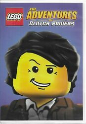 LEGO THE ADVENTURES OF CLUTCH POWERS DVD WIDESCREEN BRAND NEW $2.69