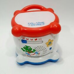 Leap Frog Learning Drum Educational Musical Interactive Lights And Sounds Works