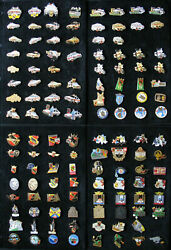 2 Pins Folder With Swiss Military Police Cars Tank Badges 301 Piece