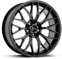 Alloy Wheels 19 1form Edition 1 Black Gloss For Infiniti G35 Sedan [mk1] 02-07