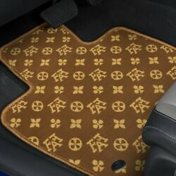 For Chevy Trailblazer 02-05 Floor Mats Fashion Auto Mat Carpeted 1st And 2nd Row
